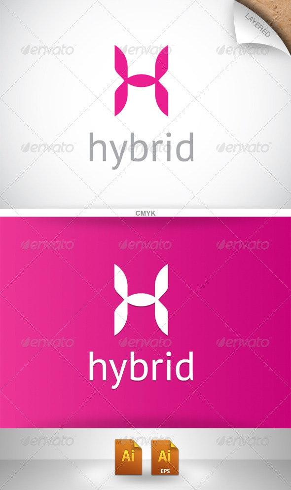 Hybrid Logo - Letters Logo Templates