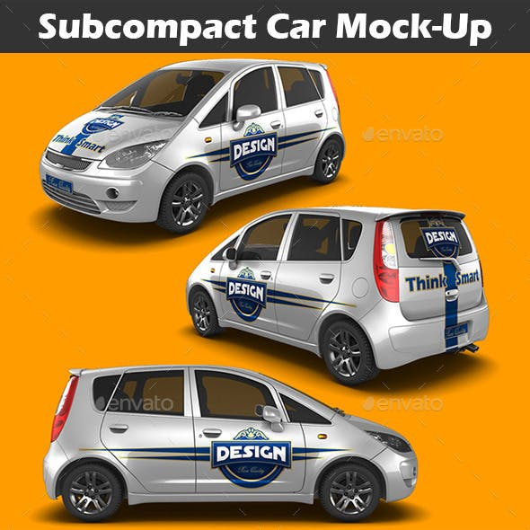 Subcompact Car Mock-Up