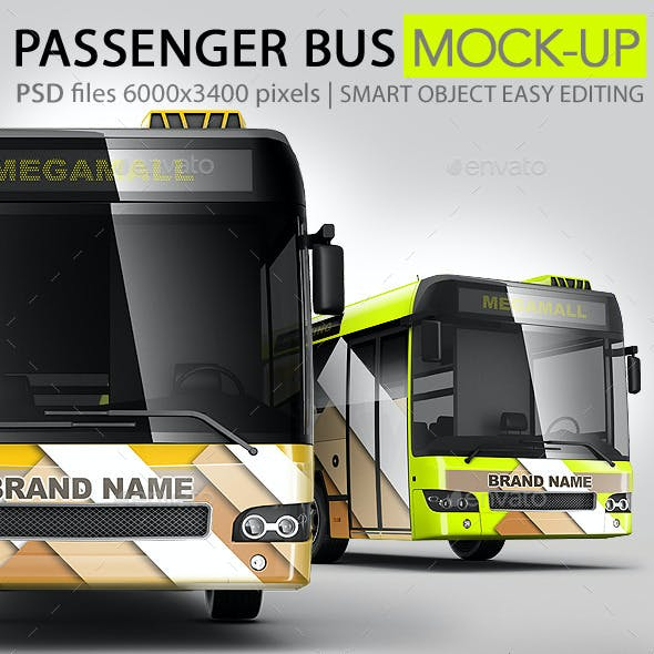 Passenger bus, Coach bus mock-up