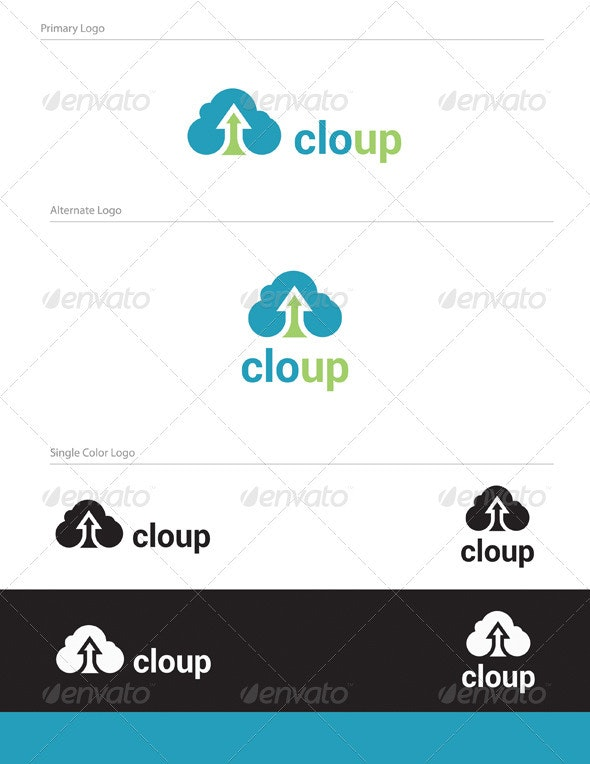 Cloup Logo Design - ABS-010 - Abstract Logo Templates