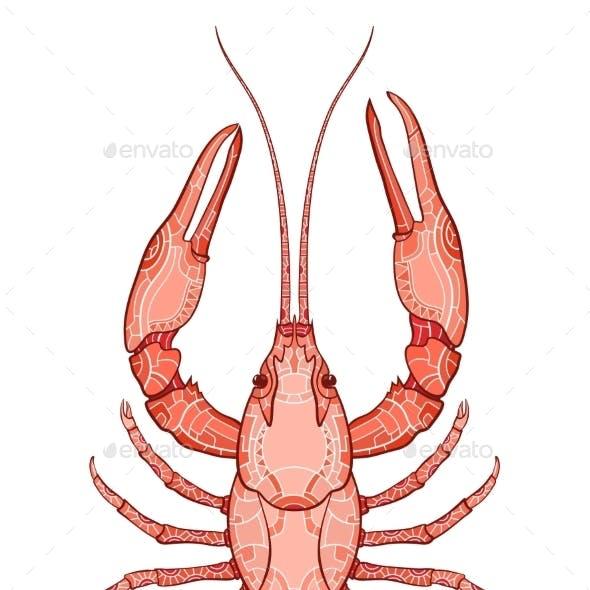 Decorative Crayfish