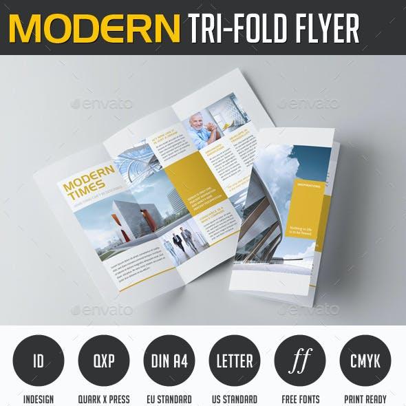 Modern Trifold Flyer