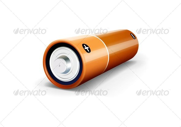 The Battery - Objects Vectors