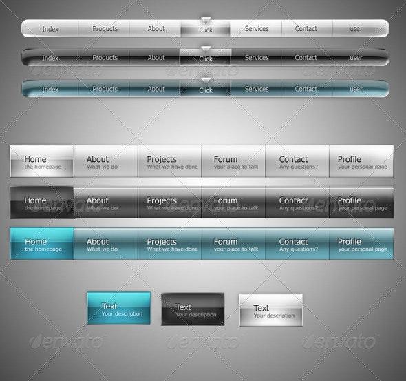 ClearStyle menu sets - Miscellaneous Web Elements