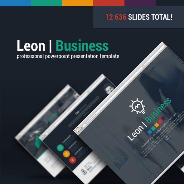Leon Business Powerpoint Presentation Template