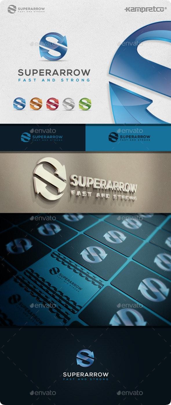 Super Arrow Logo - Letters Logo Templates