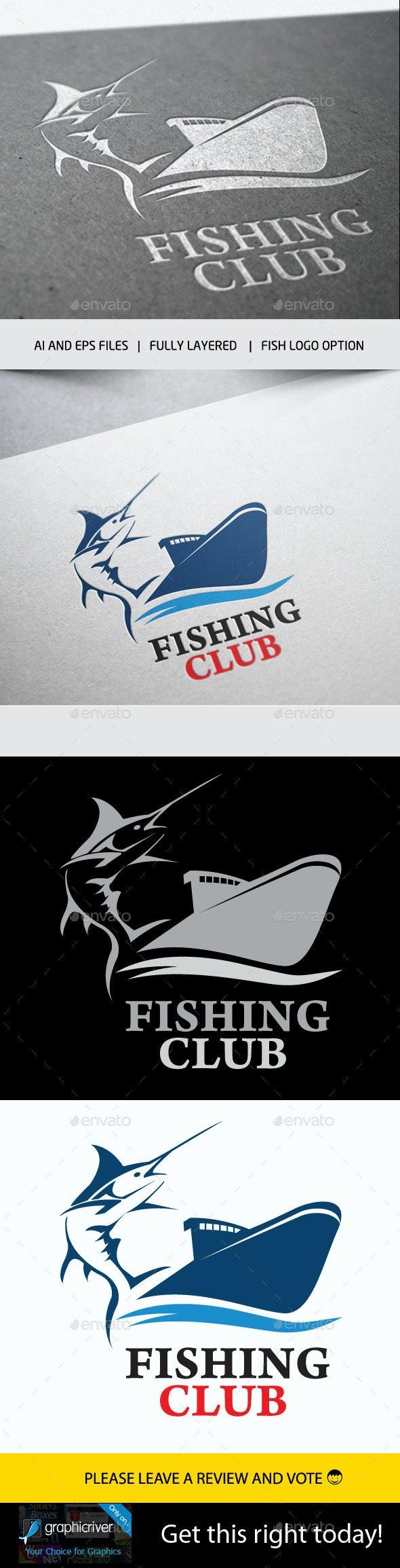 Fishing Club Logo - Symbols Logo Templates