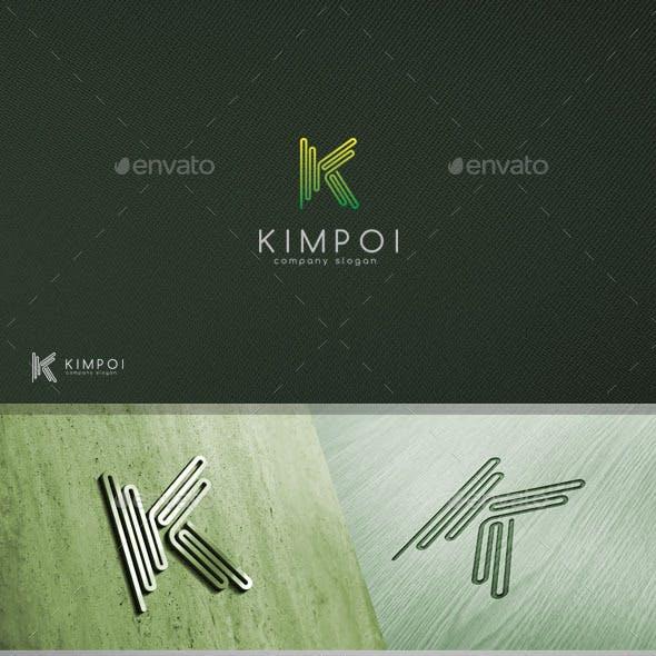 Kimpoi - Letter K Logo