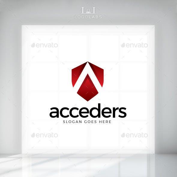 Acceder - Letter A Logo