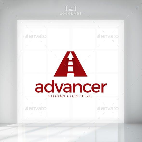 Advancer - Letter A Logo