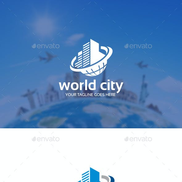 World City Logo Template
