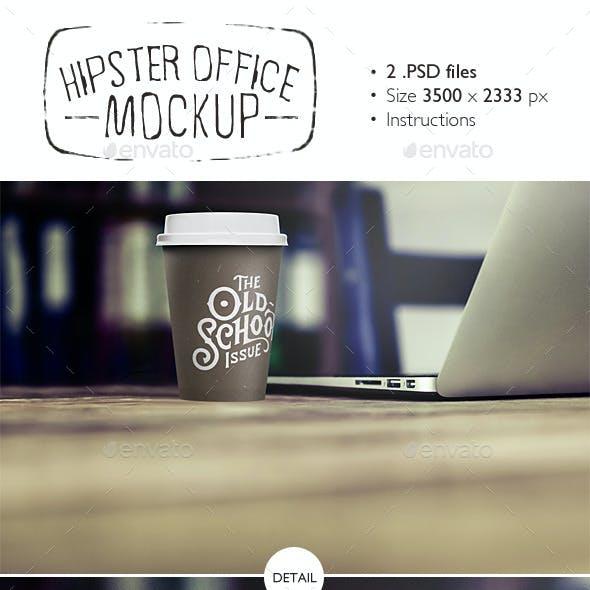 Hipster Office Mockup