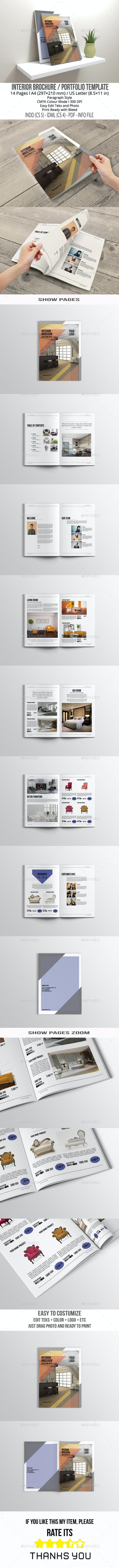 Interior Brochure - Brochures Print Templates