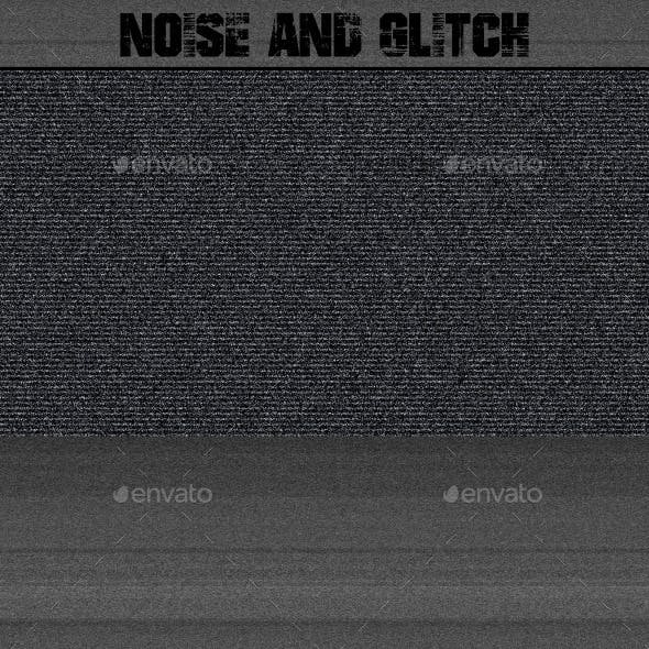 Noise and Glitch Background (50 Pack)
