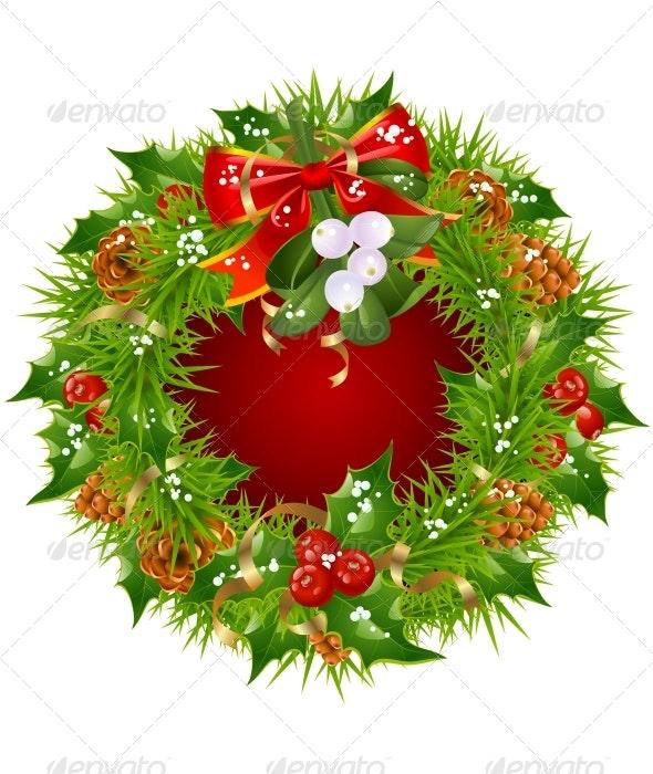 Xmas and New Year greeting card. - Christmas Seasons/Holidays