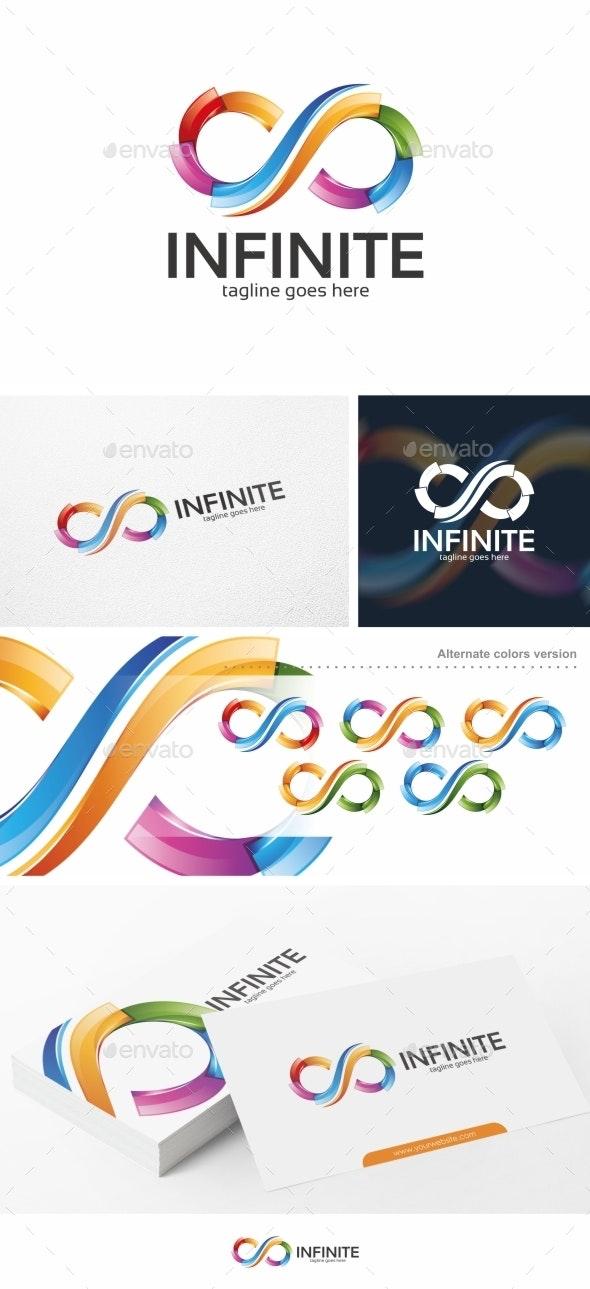 Infinite / Infinity - Logo Template - Symbols Logo Templates