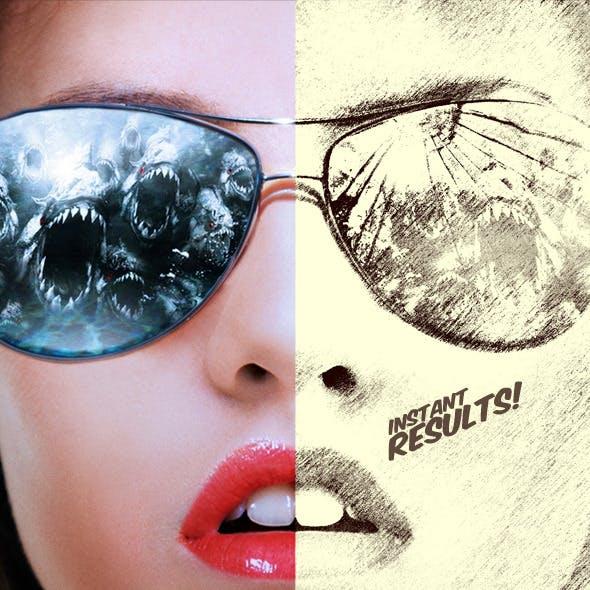 Sketcher - Photoshop Actions