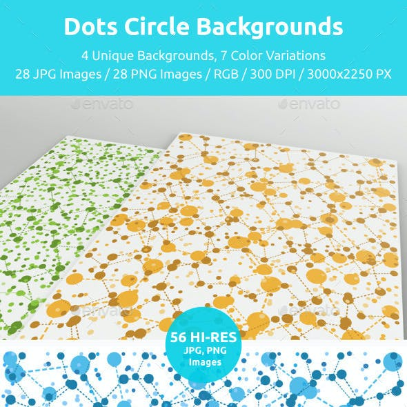 Dots Circle Backgrounds