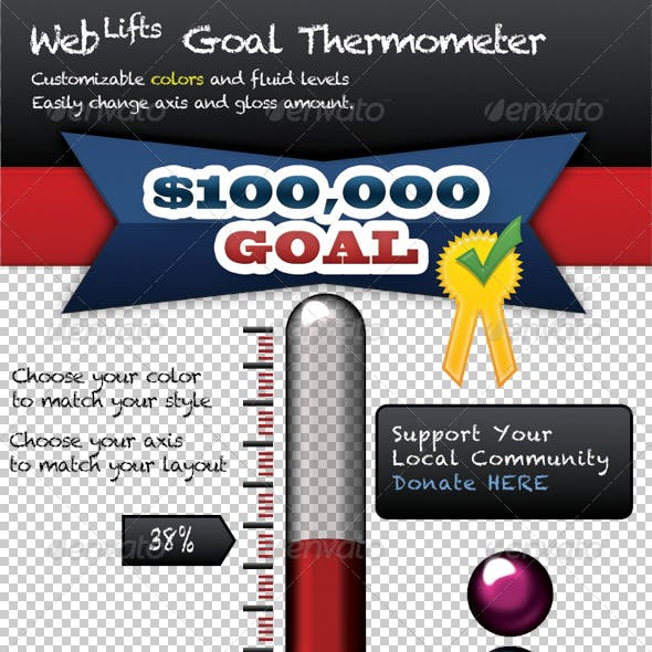 WebLifts Goal Thermometer