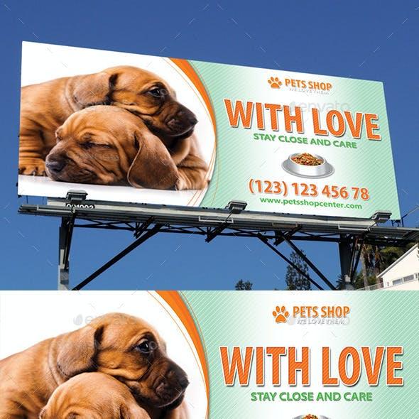 Pets Store Outdoor Banner 51