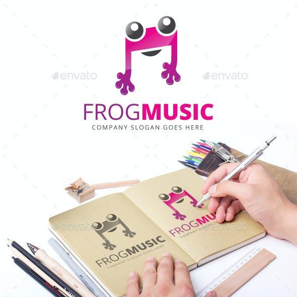 Frog Music Logo