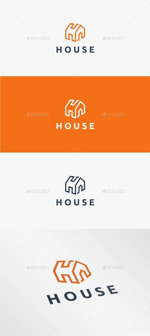 House - Logo Template - Buildings Logo Templates