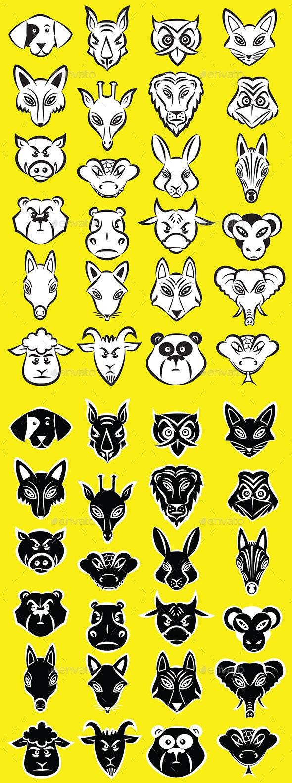 Animals Vector - Animals Characters