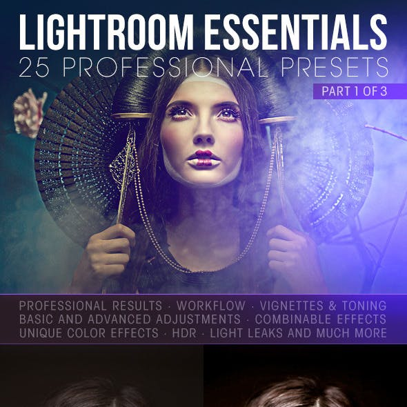 25 Essential Lightroom Presents - Part 1