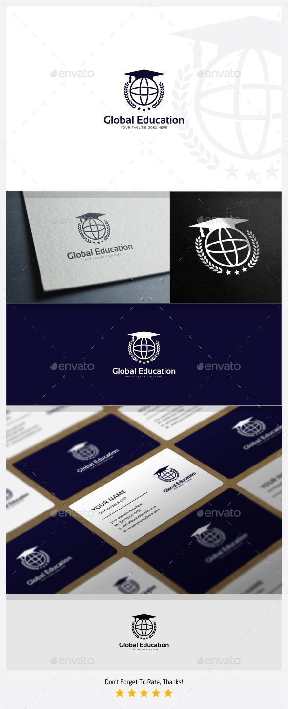 Global Education Logo - College Logo Templates