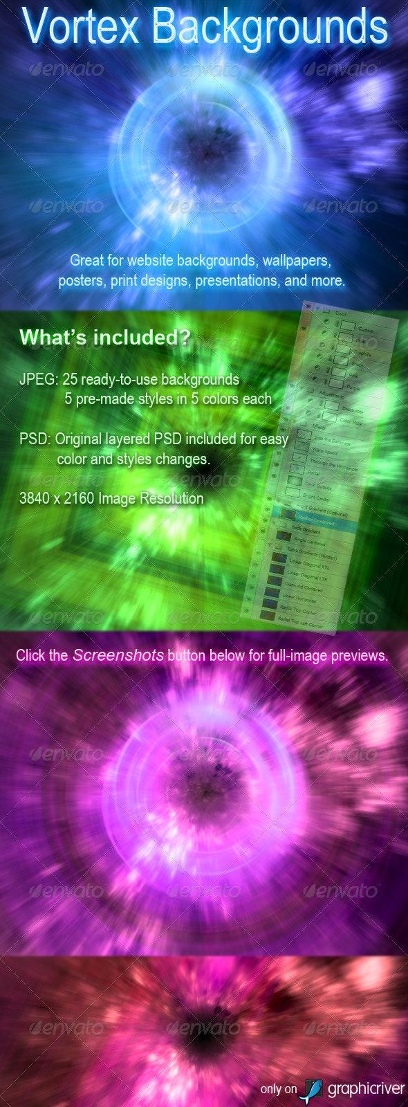 Vortex Backgrounds - Tech / Futuristic Backgrounds
