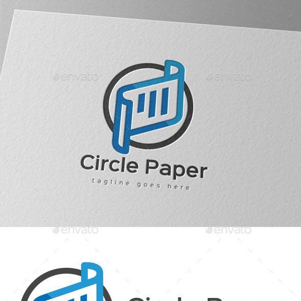 Circle Paper Logo Design