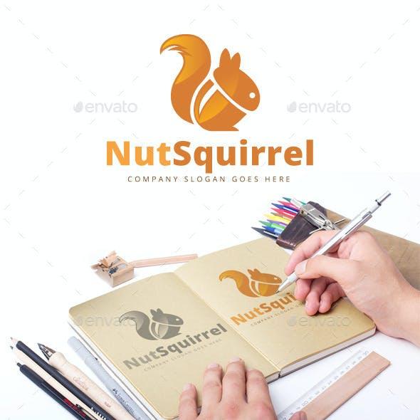 Nut Squirrel Logo