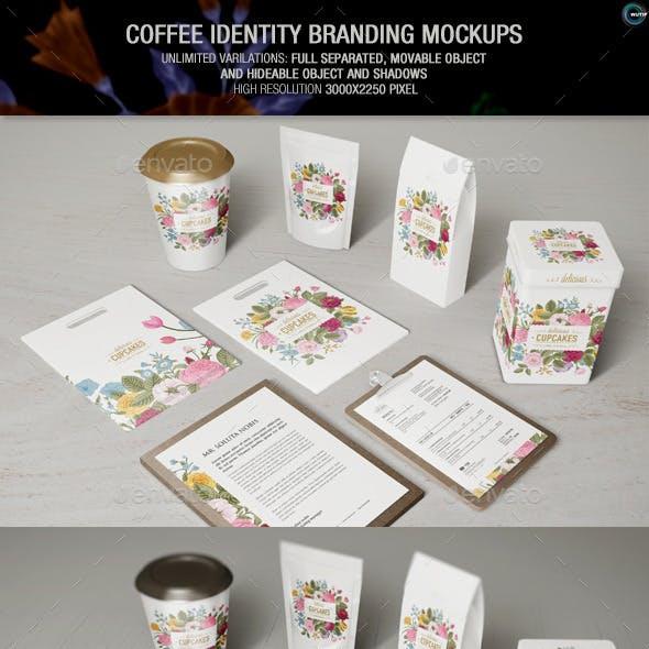 Coffee Identity Branding Mockups
