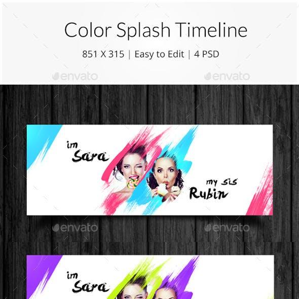Color Splash Timeline