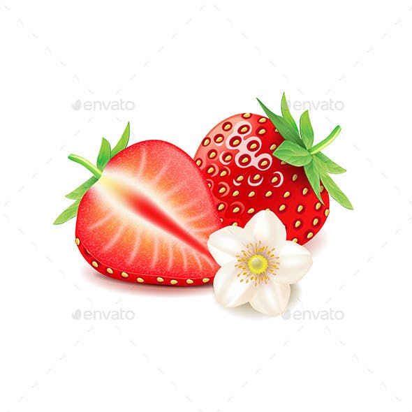 Strawberry and Slice