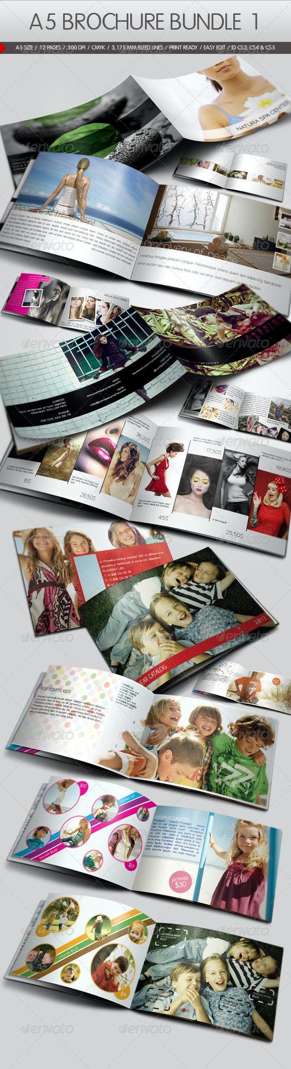 A5 Brochure Bundle I - Corporate Brochures