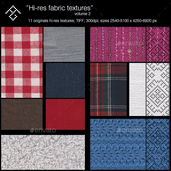 Hi-res fabrics (vol.2)