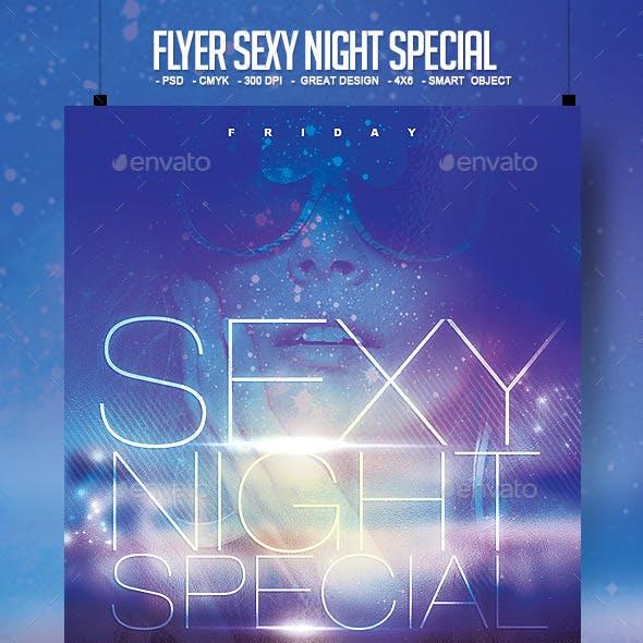 Flyer Sexy Night Special + Facebook
