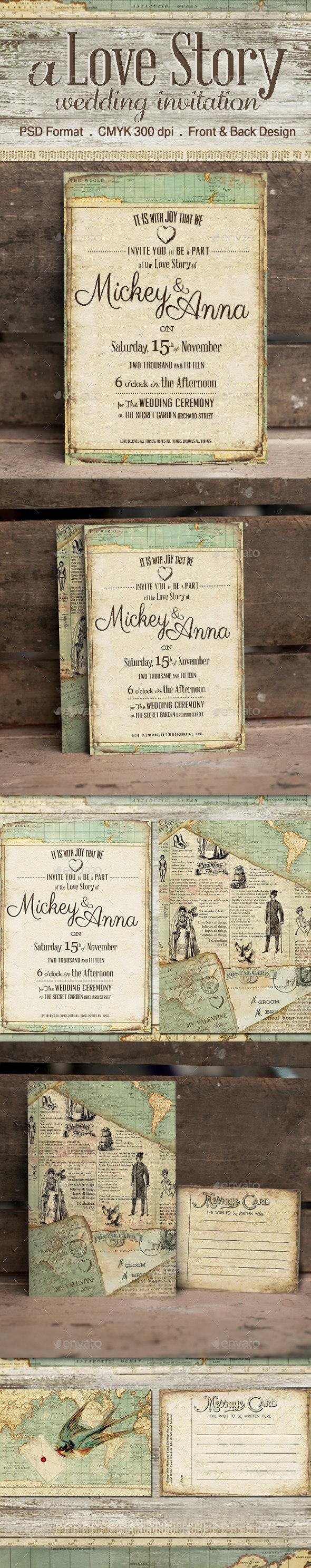 The Journey Wedding Invitation - Weddings Cards & Invites