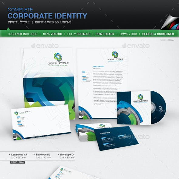 Corporate Identity - Digital Cycle