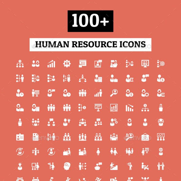 100+ Human Resource Icons