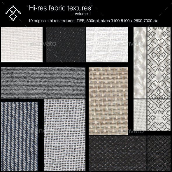 Hi-res fabrics (vol.1)