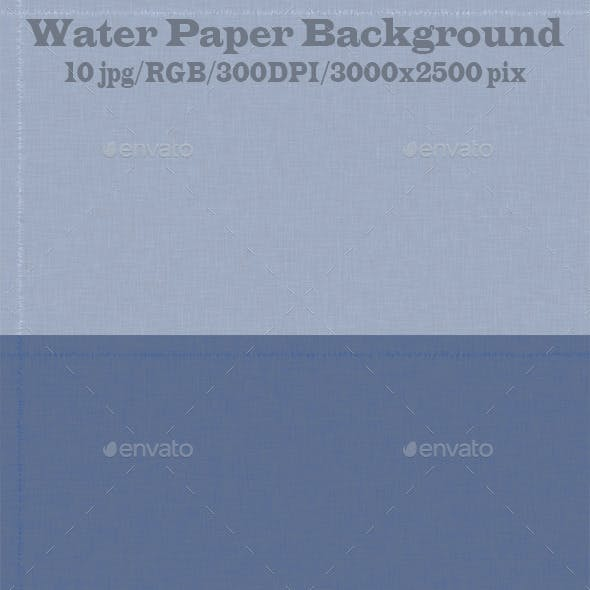 Water Paper Background