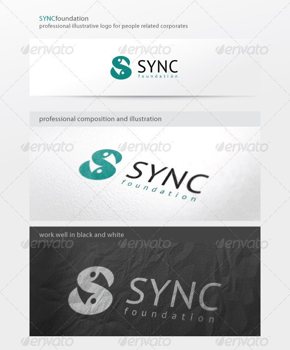 Sync Foundation Logo - Letters Logo Templates