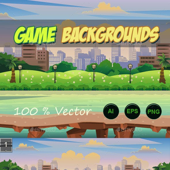 4 game backgrounds