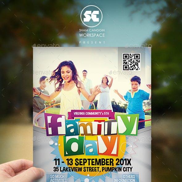 Family Summer Fest Flyer