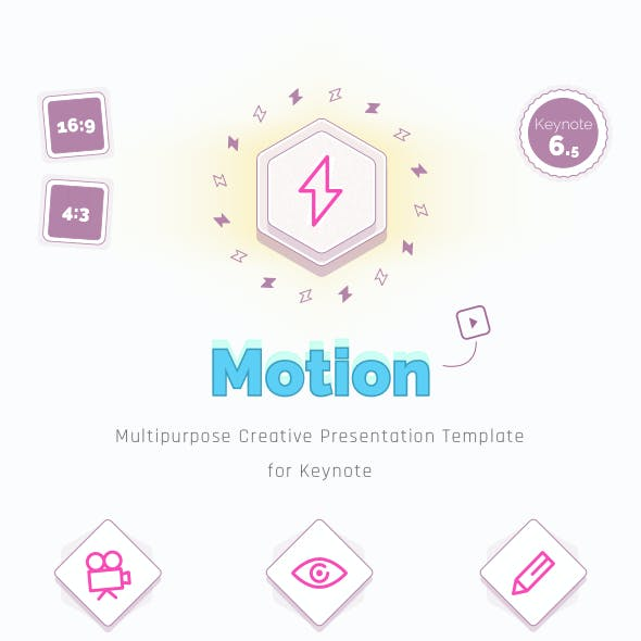 Motion — Creative Multipurpose Keynote Template