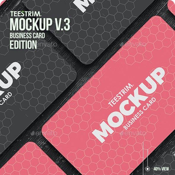Business Card Mock-Up V.3