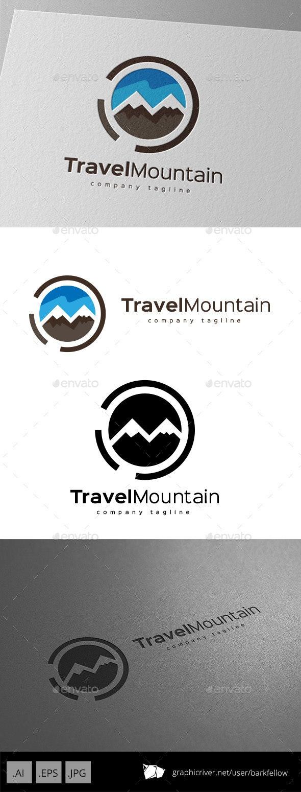Travel Mountain Logo Design  - Nature Logo Templates
