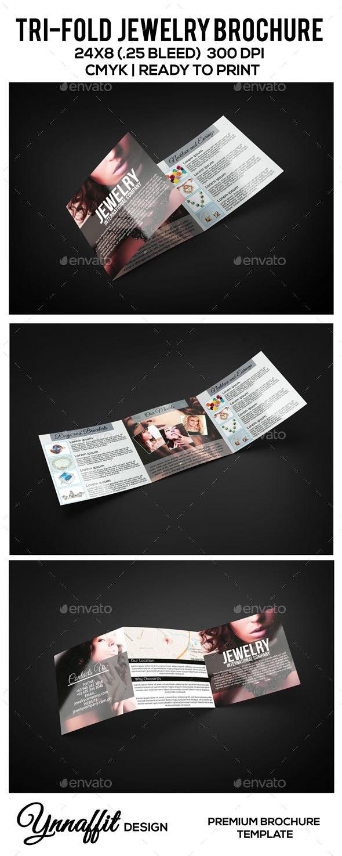 Tri-fold Jewelry Brochure - Brochures Print Templates